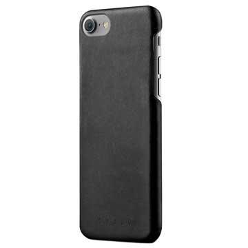 iPhone 7 / iPhone 8 Mujjo Lærdeksel - Svart