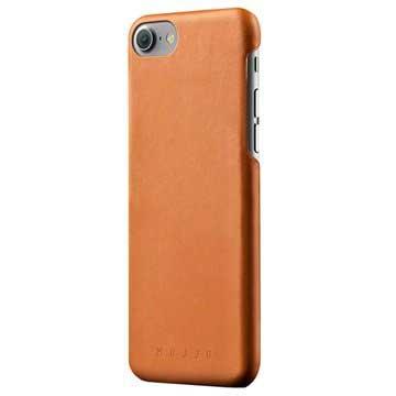 iPhone 7 / iPhone 8 Mujjo Lærdeksel - Lærbrunt