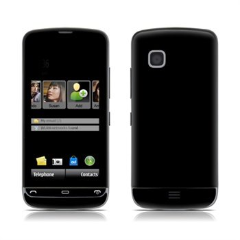 Nokia C5 Solid State Black Skin