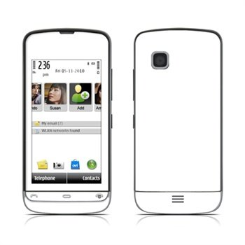Nokia C5 Solid State White Skin