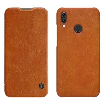 Nillkin Qin Series Huawei Honor 10 Lite, P Smart (2019) Flip-deksel - Brun
