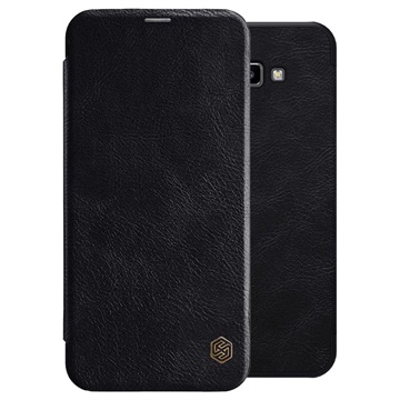 Nillkin Qin Series Samsung Galaxy J4 Core Flip-deksel - Svart