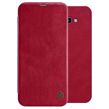 Nillkin Qin Series Samsung Galaxy J4 Core Flip-deksel - Rød
