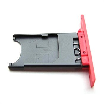 Nokia Lumia 800 Sim Kort Holder - Magenta
