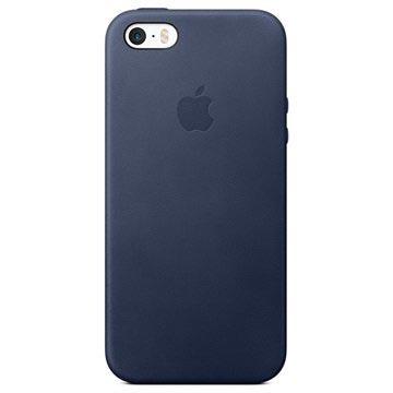 iPhone 5/5S/SE Apple Skinndeksel MMHG2ZM/A - Midnattsblå