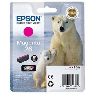 Epson T2613 Blekkpatron - Expression Premium XP-600, 700, 800 Series - Magenta