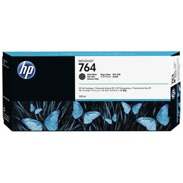 HP 764 Blekkpatron C1Q16A - Matt Svart