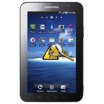 Samsung P1000 Galaxy Tab Diagnose