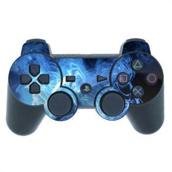 Sony PlayStation 3 Kontroll Skin - Blue Quantum Waves