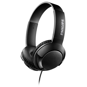 Philips Bass+ On-Ear Hodetelefoner SHL3070BK/00 - Svart