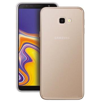 Puro 0.3 Nude Samsung Galaxy J4+ TPU-deksel - Gjennomsiktig