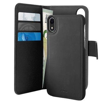 Puro 2-i-1 iPhone XR Magnetisk Lommebok-deksel - Svart