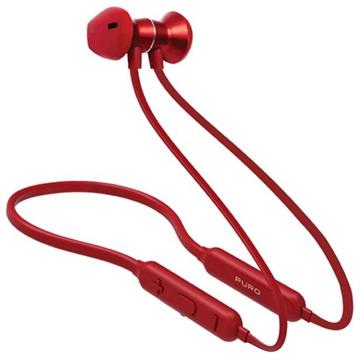 Puro Neckband Magnet Pod Trådløse Hodetelefoner - Rød