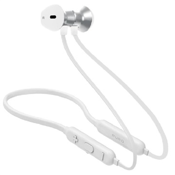 Puro Neckband Magnet Pod Trådløse Hodetelefoner - Hvit