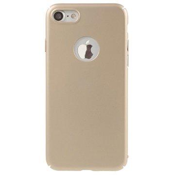 iPhone 7 / iPhone 8 Gummiert Deksel - Gull