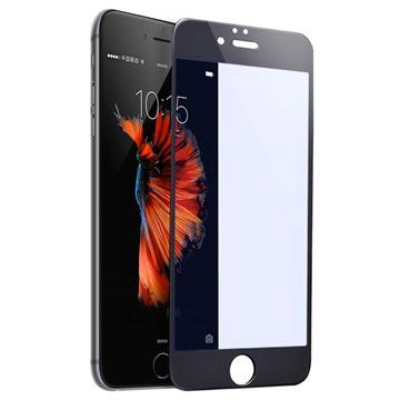 iPhone 6/6S Rurihai 4D Anti Blå Stråler Skjermbeskyttelse i Herdet Glass - Svart