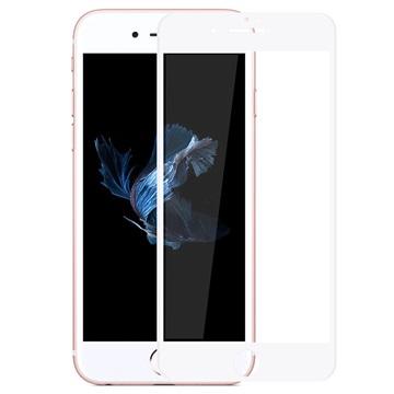 iPhone 7 Rurihai 4D Anti-Blue Ray Skjermbeskytter i Herdet Glass - Hvit