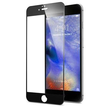 iPhone 7 Rurihai 4D Full Ramme Skjermbeskyttelse i Herdet Glass - Svart