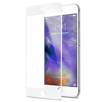 iPhone 7 Rurihai 4D Full Ramme Skjermbeskyttelse i Herdet Glass - Hvit