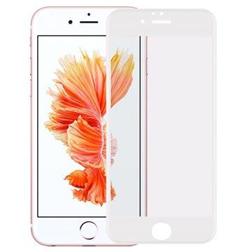 iPhone 6/6S Rurihai 4D Full Størrelse Skjermbeskytter i Herdet Glass - Hvit