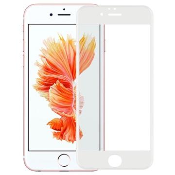 iPhone 7 Plus Rurihai 4D Full Size Skjermbeskytter i Herdet Glass - Hvit
