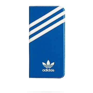 Samsung Galaxy S7 Edge Adidas Basics Folio Veske - Blå / Hvit
