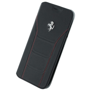 Samsung Galaxy S7 Edge Ferrari 488 Collection Book Veske - Svart / Rød