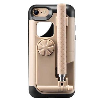 iPhone 7 / iPhone 8 Selfiestang Deksel - Gull