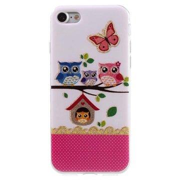 iPhone 7 / iPhone 8 TPU-deksel - Uglefamilie