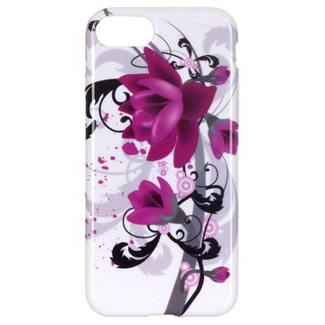 iPhone 7/ iPhone 8 TPU-deksel - Lotusblomst