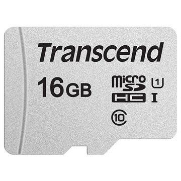 Transcend 300S MicroSDHC Minnekort TS16GUSD300S - 16GB