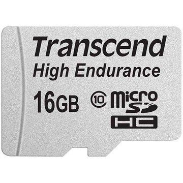 Transcend MicroSDHC Minnekort - 16GB