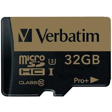 Verbatim Pro Plus MicroSDHC Minnekort - 32GB