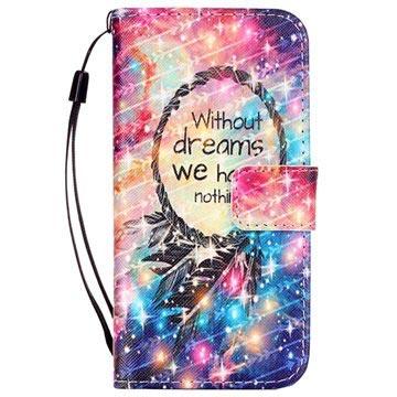 iPhone 7 / iPhone 8 Lommebok-deksel - Drømmefanger