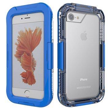 iPhone 7 / iPhone 8 Vanntett Mobilpose - Mørkeblå