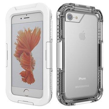 iPhone 7 / iPhone 8 Vanntett Mobilpose - Hvit