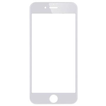 iPhone 7 Wuw-G08 4D Full Coverage Skjermbeskytter i Herdet Glass - Hvit