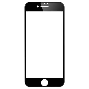 iPhone 7 Plus Wuw-G08 4D Full Størrelse Skjermbeskytter i Herdet Glass - Svart