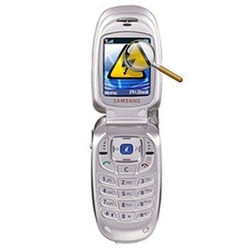 Samsung X450 Diagnose
