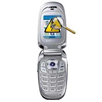 Samsung X640 Diagnose