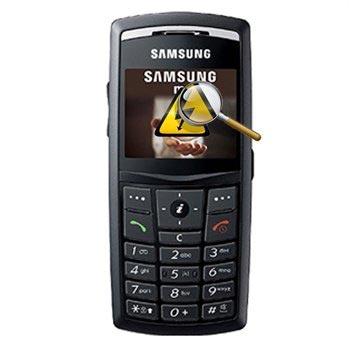 Samsung X820 Diagnose