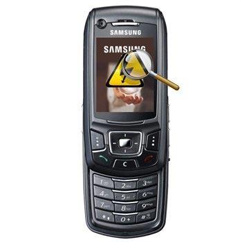 Samsung Z400 Diagnose