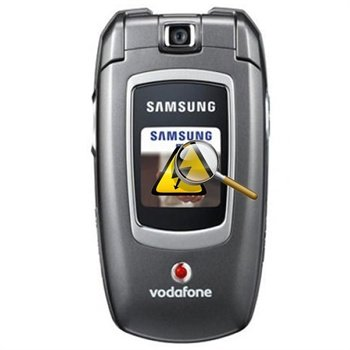 Samsung ZV40 Diagnose