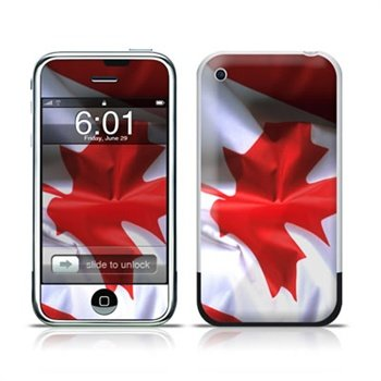 iPhone Canadian Flag Skin