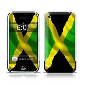 iPhone Jamaican Flag Skin