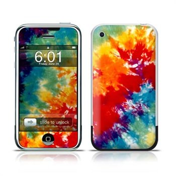 iPhone Tie Dyed Skin