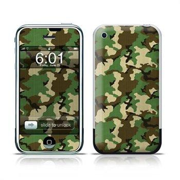 iPhone Woodland Camo Folie