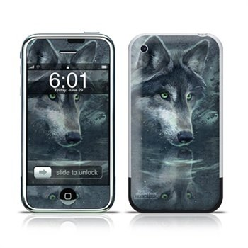 iPhone Wolf Reflection Folie
