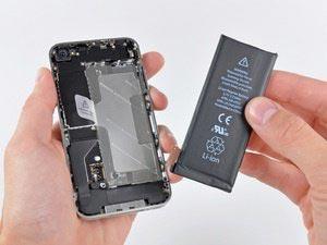 Utskifting av iPhone 4 batteri