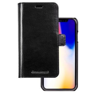 dbramante1928 Lynge iPhone XR Lommebok-deksel I Skinn - Svart